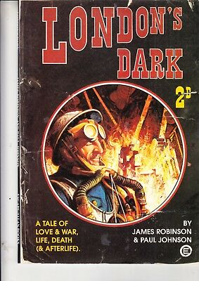 London's Dark        An Escape Graphic Novel 1988    Titan Books