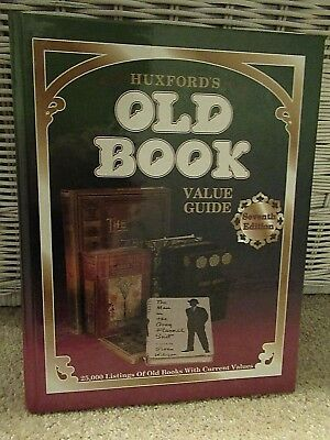 HUXFORD'S OLD BOOK VALUE GUIDE ~(HARD COVER)~ Price Guide~ 25,000 Listings ~1995