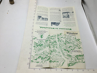 Vintage brochure -- WHITEFIELD NEW HAMPSHIRE -- 1982 -- 1of 15000