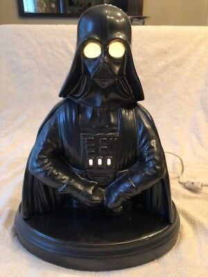 Ceramic Darth Vader Lamp Star Wars in GREAT condition Works