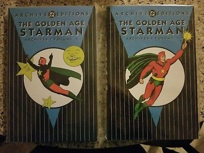 Dc Archive Editions - The Golden Age Starman - Vol 1 & 2 Hc