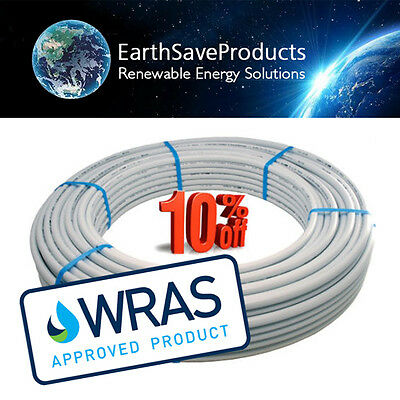 Underfloor heating pipe PEX-AL-PEX UFH pipe 16mm x 2mm 200  rolls, WRAS approved