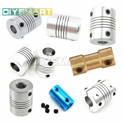 Flexible Shaft Coupling CNC Stepper Motor Connector Coupler 5/6.35/8/10/12mm