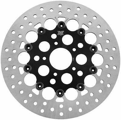 Twin Power 1400RB Floating Hole Rotor - Black