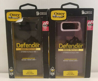 """REFURB Rugged Case by Otterbox DEFENDER for 6.3"""" Samsung Galaxy Note 8 COLORS"""