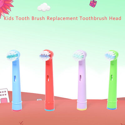 4pcs Hot Sell Kids Children Tooth Brush Replace Toothbrush Head for Braun Oral B