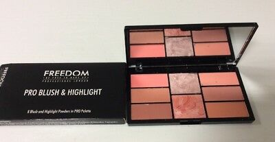 Freedom Pro Blush & Highlight Make-up-Palette Rouge Puder 15g. A671/3