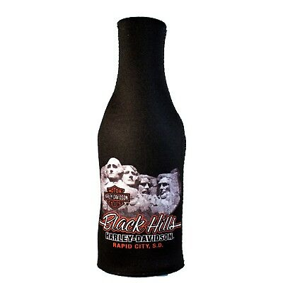 Black Hills Harley-Davidson® Mount Rushmore Zip Bottle Coozie