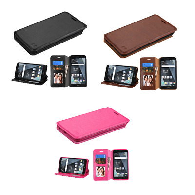 For LG Stylo 3/Plus MyJacket Protective Flip Wallet Case Cover Stand with Slots