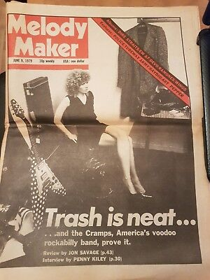 Melody Maker Feat Penny Kiley, Cramps, Dire Straits: June 9th, 1979