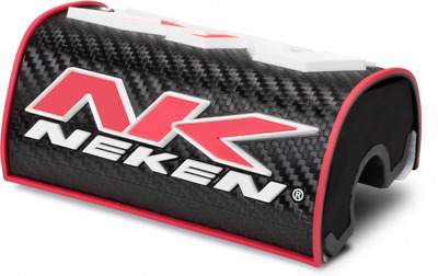 Neken Oversized HandleBars Bar 28mm Fat Bars Pad Black Red
