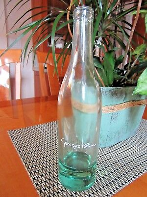 GEORGES BLANC Modele Depose Glass Wine Bottle 46 Cl Empty
