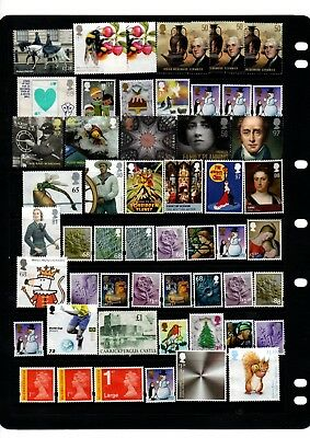 50.00 + Face Value Higher Value Commemoratives Unfranked No Gum All Shown