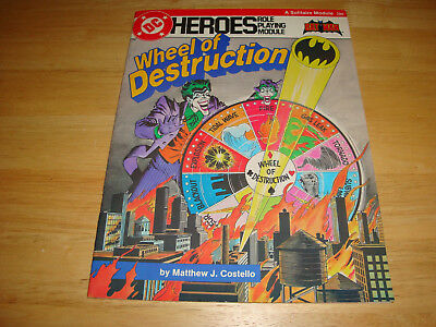 Dc Heroes Role Playing Module Gamebook #206 - 1985