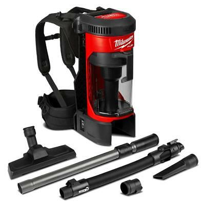 Milwaukee M18Fbpv-0 Back Pack Vacuum Cleaner - 4933464483 - No Batteries