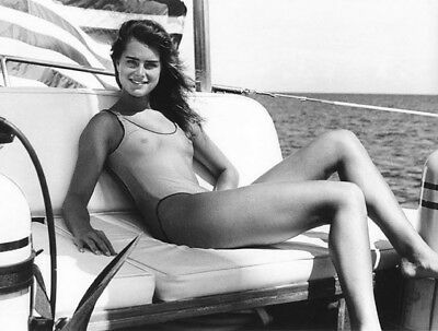 Brooke Shields Sexy Vintage Exclusive 8 x 10 Photo 434