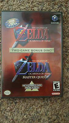 Nintendo Gamecube The Legend of Zelda Ocarina of Time Master Quest