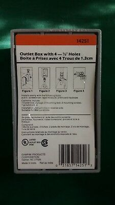 NEW Sigma Grey Outlet Box 14251