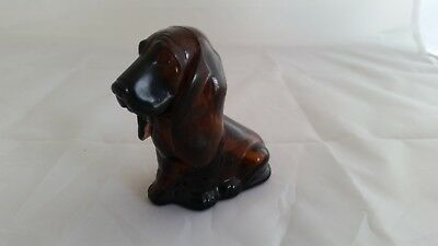 AWESOME Vintage Baby Basset AVON Bottle. A Must See!
