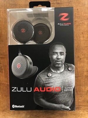 Zulu Audio Bluetooth Wearable Speakers with locking Magnets NEW IN BOX