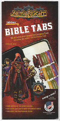 AETHERLIGHT BIBLE INDEXING TABS Old & New Testaments Tabbies 28541