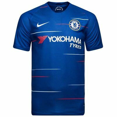 Chelsea Home Shirt 2018/19 Men's Shirt Plain,Hazard No 10,Willian No 20, RRP £45