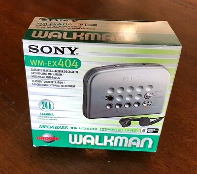 Sony Walkman WM-EX404 new in box - never opened!