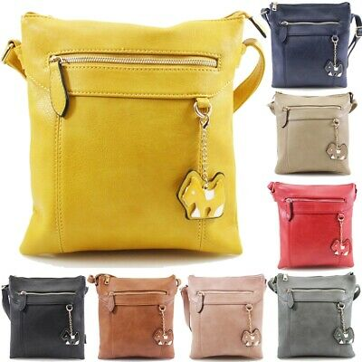 Ladies Cross Body Messenger Shoulder Over Bags Satchel Bag Womens Handbag