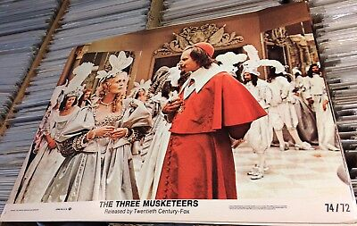 Three Musketeers 1974 Lobby Cards (7) RIchard Lester VG/EX LOT Faye Dunaway York