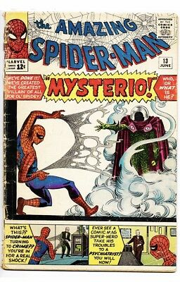 Amazing Spider-Man 13 [GD] *1st Mysterio* Entry Level Spidey Classic! 🕷