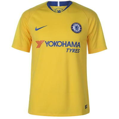 Chelsea Away Shirt 2018/19, Hazard No 10 Available, Size S-XL