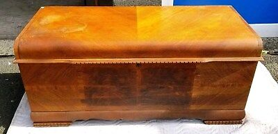 Vintage 1940s Lane Cedar Hope Chest Aroma 2 Drawers Made in Virginia