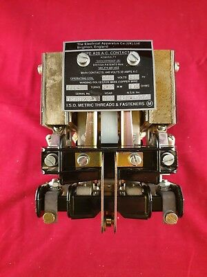 Marine / Ships Contactor  440 Volts 60HZ The Electrical Aperatus Company A20