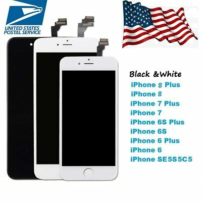 for iPhone 6 8 7 6s Plus LCD Touch Screen Display Digitizer Replacement Assembly