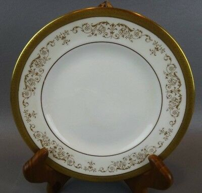 Royal Doulton Bone China Belmont H4991 Bread Plate(S) ~ Gold Encrusted