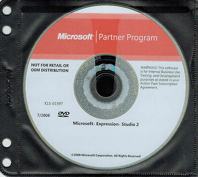 Microsoft Expression Studio 2 Full Genuine with license key
