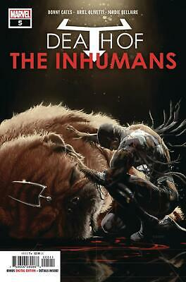 Death Of Inhumans #5 Kaare Andrews Cover Nm 2018 Marvel Comics 11/07/18