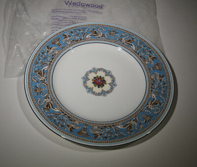 "Wedgwood FLORENTINE TURQUOISE 10-3/4"" Dinner Plate ~ New"