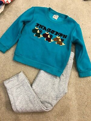 kids 2 piece Long sleeve and pant 3-4 Y