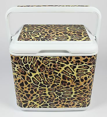 Ice Chest Chilly Bin Ice Box - Leopard Print