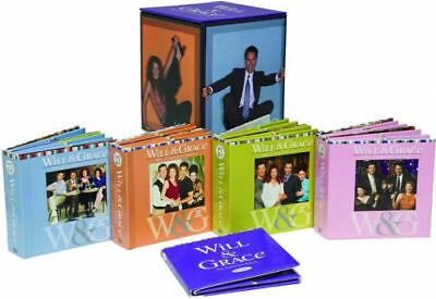 Will and Grace Complete Series Set Seasons 1-8 33-Disc Set 2008 60 Day Warranty