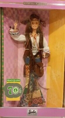Barbie Peace & Love 70's *Great Fashions of 20th Century Series  #27677