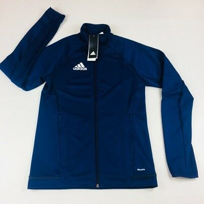 Adidas Mens Tiro 17 Athletic Training Jacket  Blue