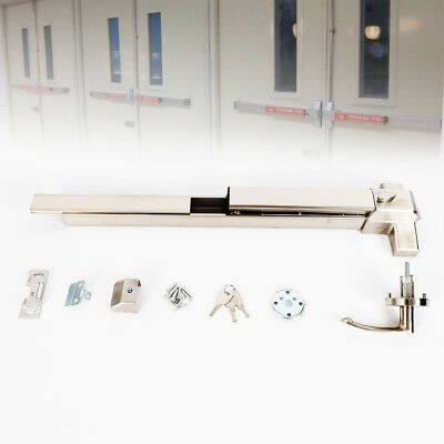 Commercial Door Push Bar Panic Exit Device Aluminum Safety Fireproof Fast