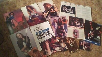 Jake E. Lee Magazine pinup article clippings lot intage Ozzy Osbourne Badlands