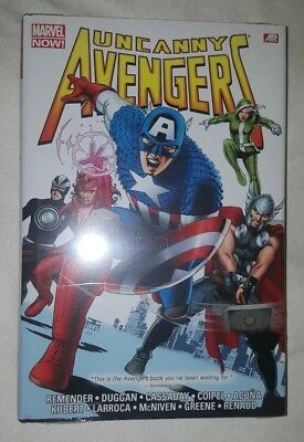 Uncanny Avengers Omnibus by Rick Remender Marvel Comics HC Hard Cover