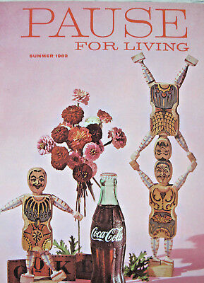 Coca Cola Pause For Living Summer 1962 Advertising Booklet