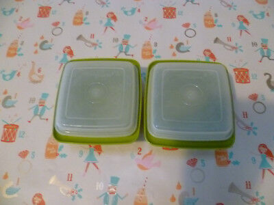 Tupperware vintage  storage food containers ,olive colour used. see my others