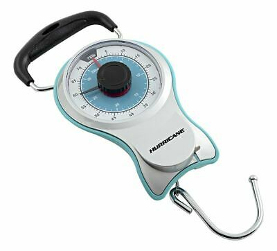 Hurricane 75 lb Dial Scale w/Tape Measure, Non-Slip Grip, Hold Weight Recorder