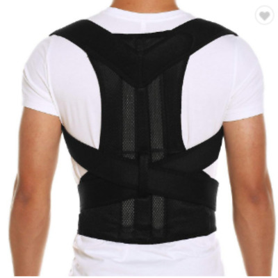 Posture Corrector Shoulder Lumbar Back Support Brace Belt Men Women Unisex S M L